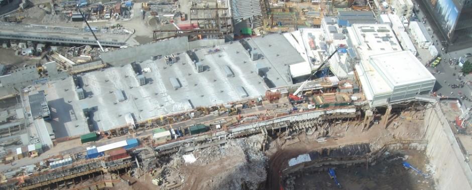 World Trade Center Excavation